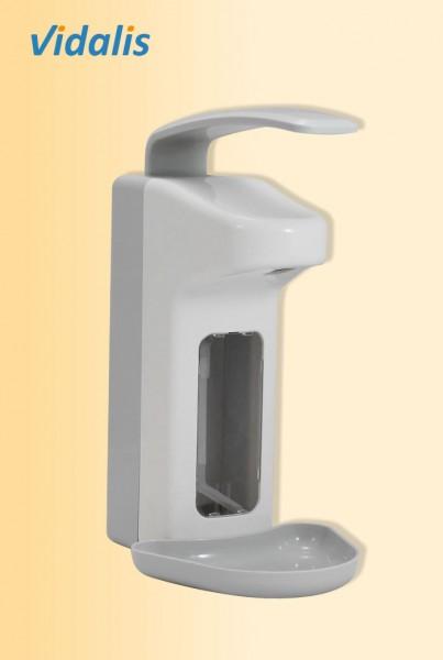 Wandspender Kunststoff f. ca. 1000 ml Seife, wiederbefüllbar, 1 Stück
