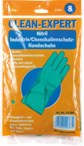 CLEAN-EXPERT Nitril-Handschuhe (CAT III), Btl. à 1 Paar