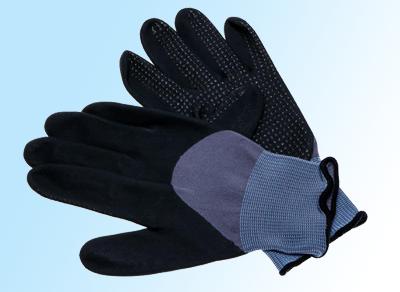 SolidSafety Tough Dots - robuster Nylon-Spandex-Schutzhandschuh
