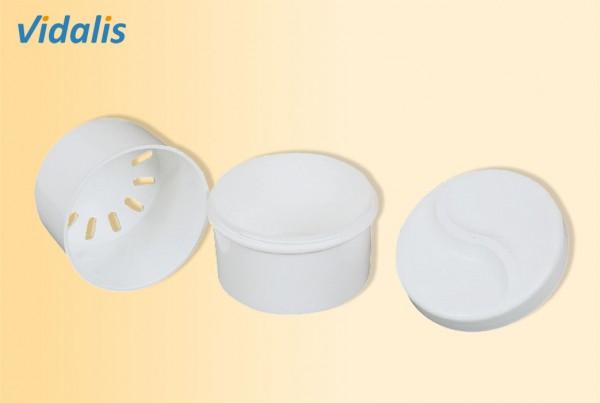 Zahnprothesenbecher mit Einsatz, 1 Stück