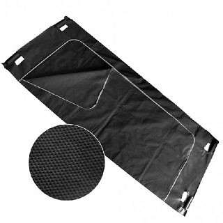 "Unfallhülle ""Body Bag"" schwarz, 210 x 90cm, 1 Stück"