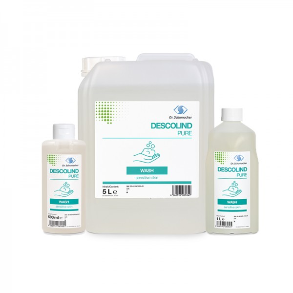 Waschlotion Descolind Pure Wash - sensible Haut