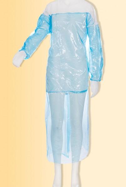 MED-COMFORT Vlieskittel mit PE-Schürze und Ärmelschonern, 1 Stück