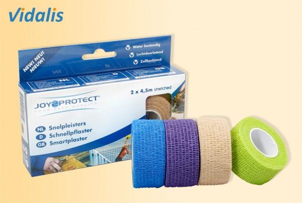 JOY-PROTECT Schnellpflaster, Box à 2 Rollen