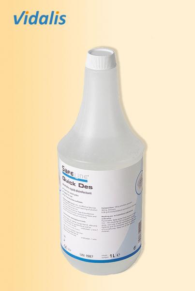 """Safeline """"Quick Des - N"""", Schnelldesinfektion 1 Liter"""