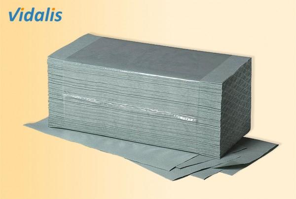 Falthandtücher 25x50cm, 1-lagig grün, Karton à 2400 Blatt