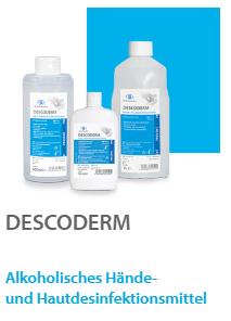 Descoderm 1 liter Hände- und Hautdesinfektion, 1 Flasche