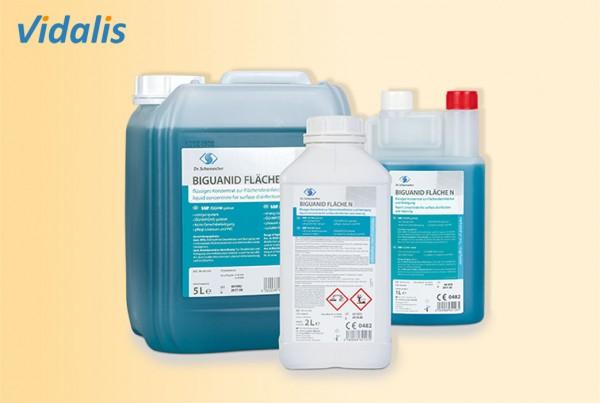 BIGUANID Fläche N, 40-ml Beutel Flächendesinfektionsmittel