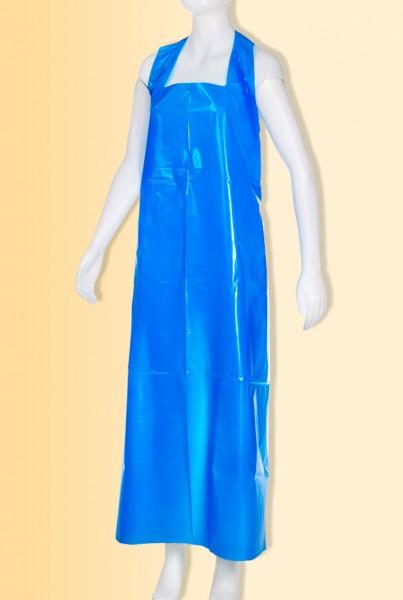 MED-COMFORT PE-Einwegschürzen Blau, Block à 50 Stück