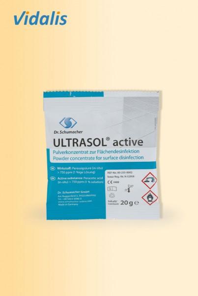 ULTRASOL active, 20-g Beutel Pulverkonzentrat zur Flächendesinfektion