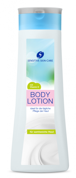 Sensitive Skin Care Body Lotion 500-ml
