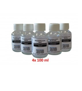 Solufresh Neutrasol Duftkonzentrat, 4 x 100-ml