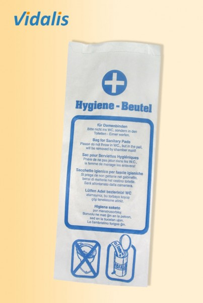 Papier-Hygiene-Beutel, Karton à 1000 Stück