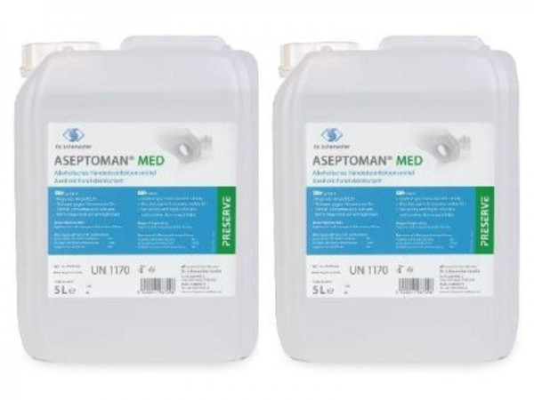 ASEPTOMAN MED 5 Liter Händedesinfektionsmittel