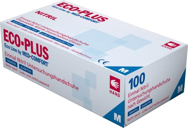 ECO-PLUS Nitril-Handschuhe, Box à 100 Stück