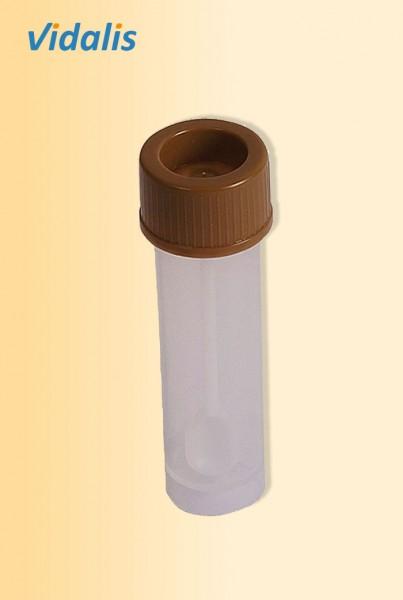 Stuhlprobengefäß 30-ml, mit Schraubdeckel, Karton à 350 Stück