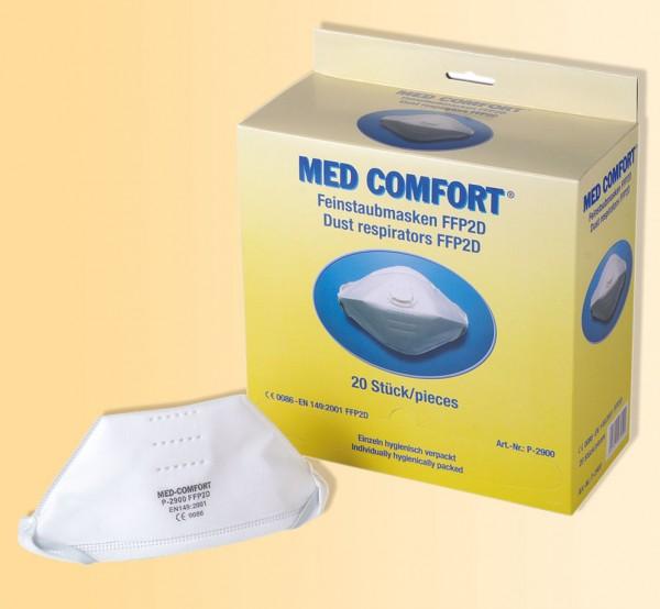 MED-COMFORT filtrierende Halbmaske FFP2D mit Ventil