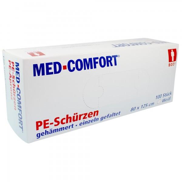 MED-COMFORT PE-Einwegschürzen, 80x125 cm, Box à 100 Stück