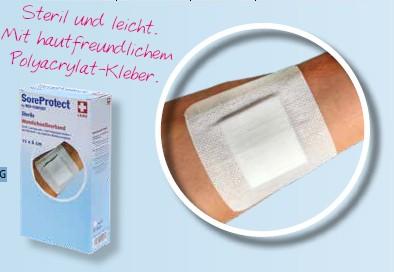 SoreProtect Sterile Vliesstoffwundverband weiß steril