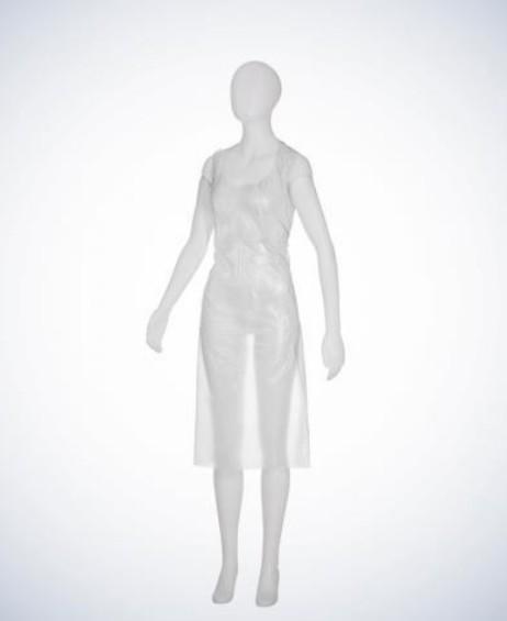 MED COMFROT PE Einwegschürzen Plus weiß Beutel á 100 Stück