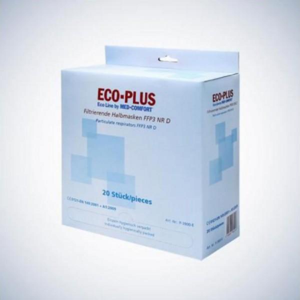 Eco-Plus Filtrierende Halbmaske FFP3 - NUR als Box zu kaufen!