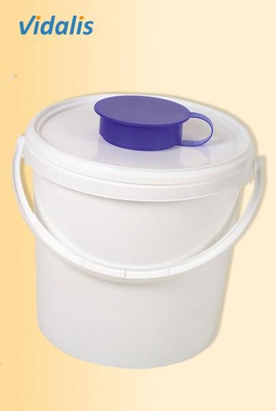 Spendereimer 6,2 Liter, für Vliesrollen, 1 Stück