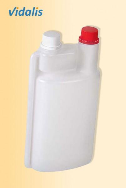 Dosierflasche 1.000-ml mit 60-ml Dosierkammer, 1 Stück